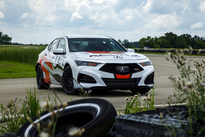 TLX Type S Prototype Serves as Official Pikes Peak Pace Car