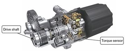 Nueva tecnología de sensor de torque (PRNewsfoto/NSK Americas)