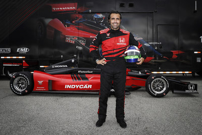 """Three-time Indianapolis 500 winner and four-time series champion Dario Franchitti will return to the cockpit this weekend at World Wide Technology Raceway, as the former Indy car star takes the controls of Honda's """"Fastest Seat in Sports"""" two-seat Indy car prior to the start of Sunday's NTT INDYCAR SERIES race on the 1.25-mile oval."""