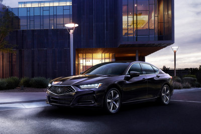 Highly Anticipated 2021 Acura TLX Set To Arrive at Dealerships Late September; Packing More Power and Features for $37,500