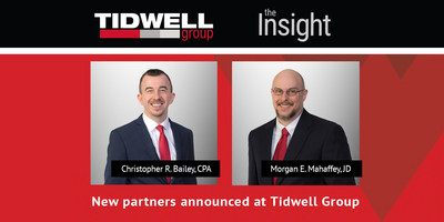 New partners announced at Tidwell Group