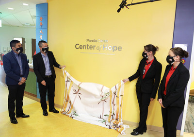 Unveiling of Panda Cares Center of Hope at Lurie Children's Hospital in Chicago, IL