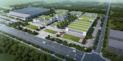 Site Plan Rendering of the Sino – German (Changzhou) Innovation Park