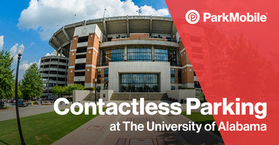 ParkMobile will provide students, faculty and visitors a safer and smarter way to pay for campus parking.