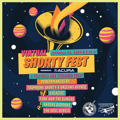 Acura Presents Virtual Shorty Fest: Celebrating New Orleans Music Culture