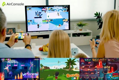 Couch multiplayer without buying a console. Play using your phones as gamepads!