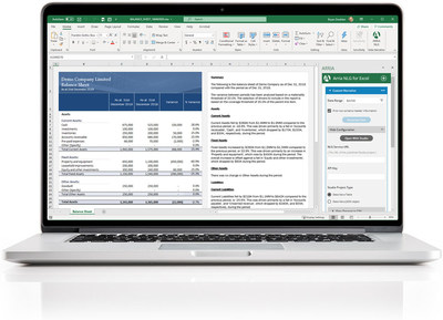 Arria brings the power of language to the most widely adopted business analytics tool! Arria for Excel gives you the ability to instantly narrate Excel spreadsheets, easily export directly to Word or PowerPoint, enjoy timely financial report automation and more!