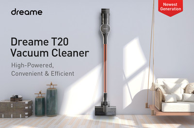 Dreame's T20 Cordless Vacuum Cleaner with Long Battery Life Raises $100,000 within 32 Hours on Indiegogo