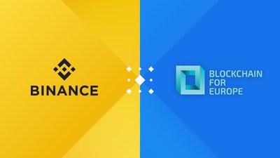 Binance and Blockchain for Europe