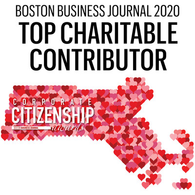 BBJ 2020 Top Charitable Contributor