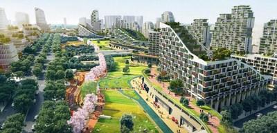 Blueprint (PRNewsfoto/Chengdu Hi-tech Zone)