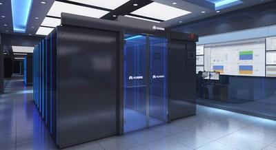 Centro de datos modular inteligente Huawei FusionModule2000.