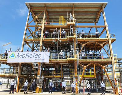 LyondellBasell pone en marcha con éxito su instalación de reciclaje molecular MoReTec en su localidad en Ferrara, Italia. La planta piloto completa el próximo paso de la empresa hacia la conversión a escala industrial de desechos plásticos en materia prima.