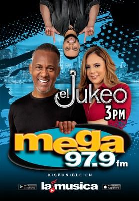 """Mega 97.9FM la estación radial líder en el continente anuncia llegada triunfal de la emblemática Nilda Rosario a """"El Jukeo NY"""" uniéndose al más querido de la radio, Janeiro Matos"""