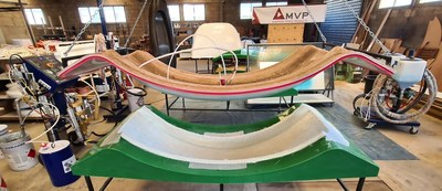 MVP's Fast Flow LRTM process draws from years of experience as a leader in closed molding and blends techniques to deliver faster, more efficient part production.