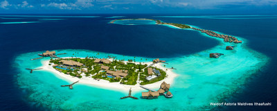 Discover a paradise haven at Waldorf Astoria Maldives Ithaafushi surrounded by flawless sky-meets-sea panoramas.