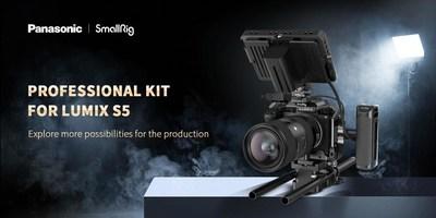 SmallRig Professional Kit for LUMIX S5