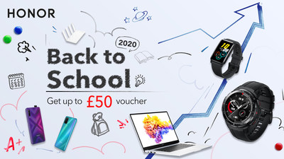 HONOR Back to School 2020 at HIHONOR Store
