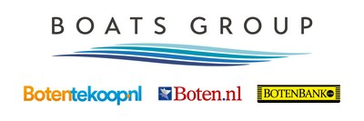 Boats Group logo with newly acquired marketplace brands