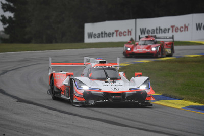 Dane Cameron captures Acura's fourth consecutive IMSA WeatherTech SportsCar Championship pole of the season Friday at Michelin Raceway Road Atlanta.