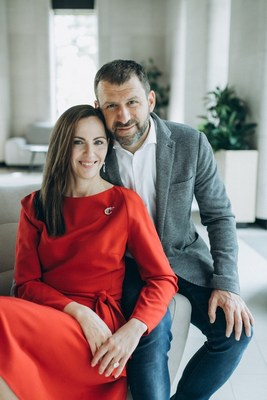 Ekaterina Rybakova, co-founder and president of the Rybakov Foundation, Igor Rybakov, founder of PlaySchool, entrepreneur, co-founder of the Rybakov Foundation