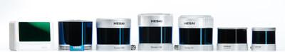 Hesai's LiDAR product suite