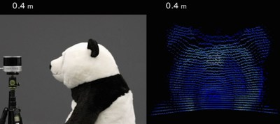 PandarXT near-range detection