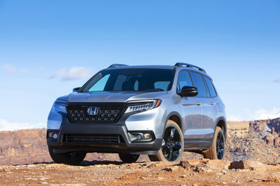 American Honda reported September and Q3 sales results today, with Honda trucks setting a new September record, including record months for the Honda Passport and CR-V. (PRNewsfoto/American Honda Motor Co., Inc.)