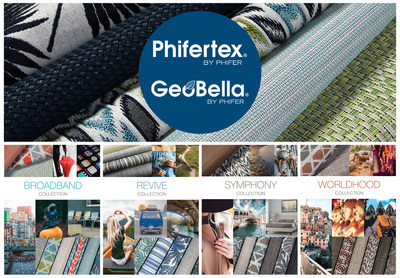 Phifer's new design trends feature 4 collections of outdoor furniture fabric.
