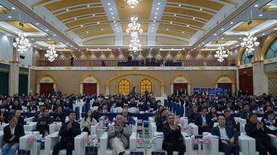 El 3.° Seminario de la Franja y la Ruta sobre desarrollo verde de la industria del carbón coque dio inicio el sábado en Xiaoyi, una ciudad-condado de Lvliang, Shanxi. (PRNewsfoto/Xinhua Silk Road)