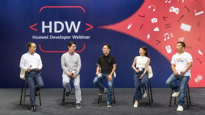 Panel Discussion during the Huawei Developer Webinar - Grow in China, Win with AppGallery