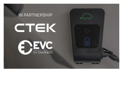CTEK and EVC Logo