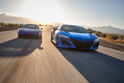2021 Acura NSX Celebrates Motorsports and Heritage in Long Beach Blue Pearl