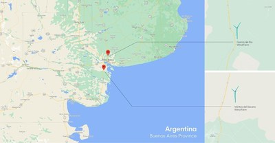 Envision Wind Farms in Argentina