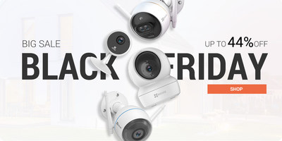 Save a bundle on EZVIZ's best-selling smart home security gadgets and stock up your holiday gifts.