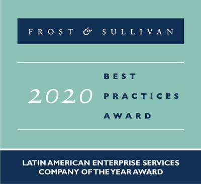 Frost & Sullivan reconoce a Lumen con el premio a la empresa de servicios empresariales de América Latina del año 2020