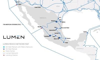 Map de Red de Lumen en México