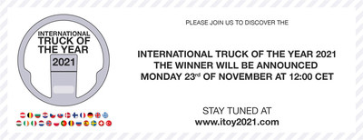 Announcement International Truck of the Year