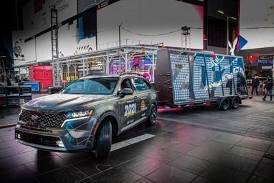 Kia Motors America se prepara para terminar el 2020 con una celebración masiva de Año Nuevo en Times Square
