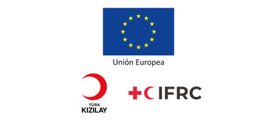 IFRC - ECHO - Project: ESSN Logo (PRNewsfoto/IFRC - ECHO - Project: ESSN)