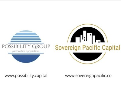 Logotipos de Possibility Group Ltd. y de Sovereign Pacific Capital
