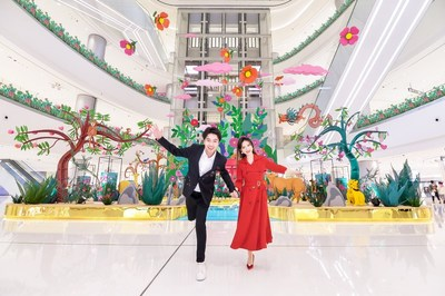 """""""Blooms of Blessings"""" First Exhibition in Central China (PRNewsfoto/Changsha IFS)"""