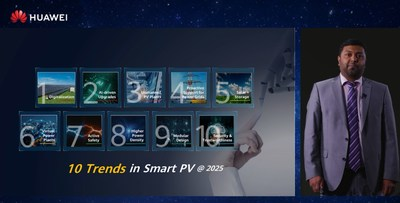 Huawei Speaks at World Future Energy Summit on the Future Trends of PV Industry