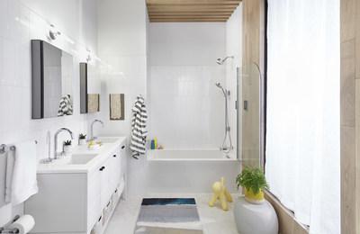 Kohler presenta varias innovaciones de hogar inteligente para los espacios de cocina y baño en el CES 2021. (PRNewsfoto/Kohler Co.)