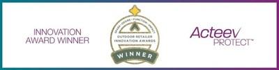 La tecnología antimicrobiana Acteev Protect de Ascend ganó el Innovation Award 2021 de Outdoor Retailer por su funcionalidad.. (PRNewsfoto/Ascend Performance Materials)