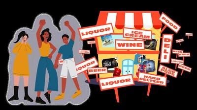 Ilustración de Kane Andrade (PRNewsfoto/Alcohol Justice)